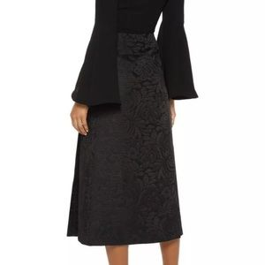 THEORY NWT Anneal Aster Jacquard SKIRT A-line Sz 6