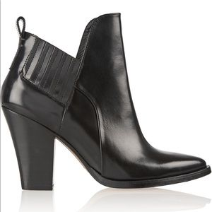 Sexy Maje Leather Ankle Boots