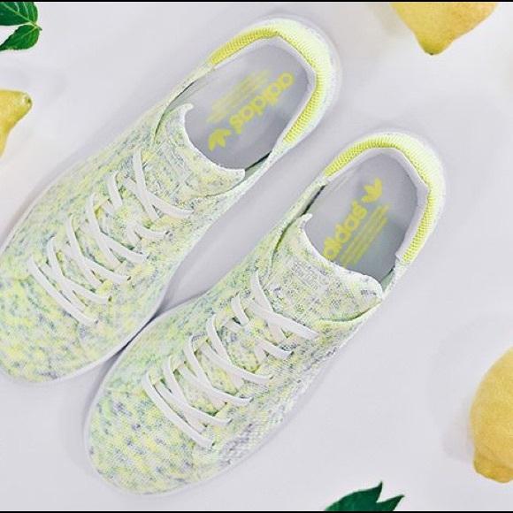 "Adidas Stan Smith Primeknit ""Solar Yellow"" ba47c965f7"