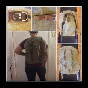 1950s Swiss Army Backpack made in Switzerland