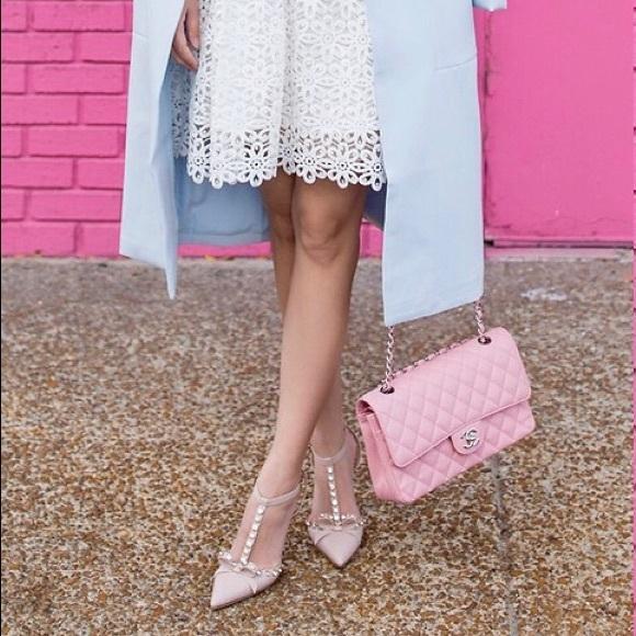 57430d84c kate spade Shoes - Kate Spade petal pink Julianna kitten heels