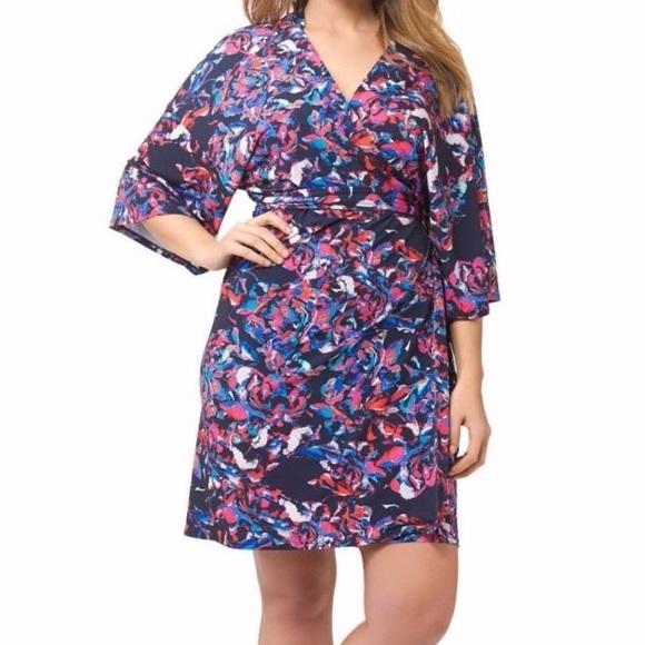 Amanda Uprichard Dresses & Skirts - Amanda Uprichard plus size kimono wrap dress