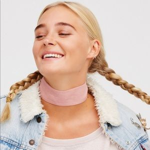 Free People Daisy Jane Choker in Pink