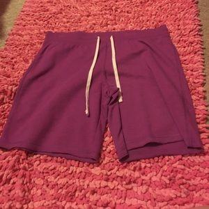 Pants - Purple shorts