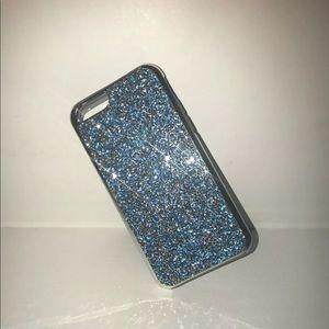 Accessories - Glitter Jewel iPhone 6-8+ Case-Blue