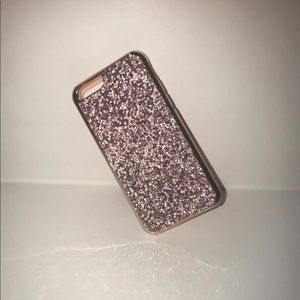 Accessories - Glitter Jewel iPhone 6-8+ Case-Pink