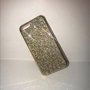 Accessories - Glitter Jewel iPhone 6-8+ Case-Gold