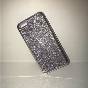 Accessories - Glitter Jewel iPhone 6-8+ Case-Purple