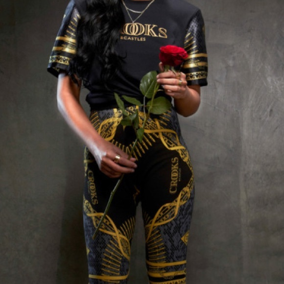 4194df6f51ee0 Crooks and Castles Pants - XS Crooks and Castles Gold Chain Leggings