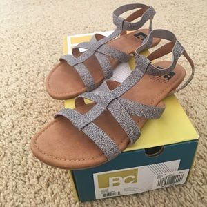 BC Footwear Iced Tea Ankle-Strap Sandals