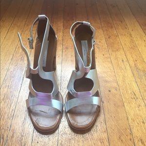 Stella McCartney silver sandals
