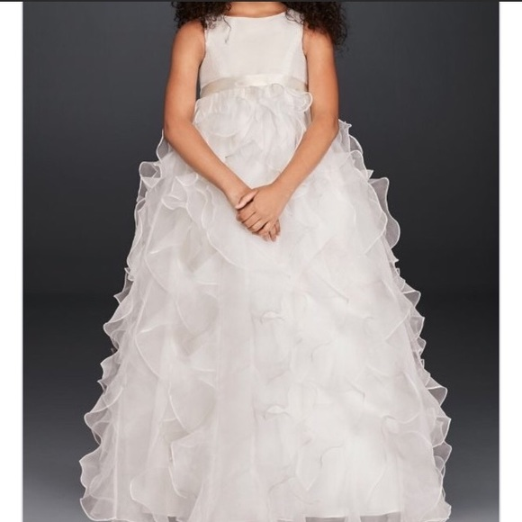 61a8cb60541 David s Bridal Other - Flower Girl First Holy Communion Dress