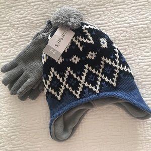 Carter's Boys Winter Hat & Glove set