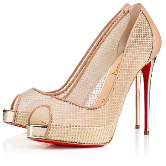 62cde676169 Christian Louboutin Very Rete Worn & Refurbished