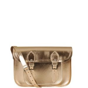 The Cambridge Satchel Company Gold Handbag