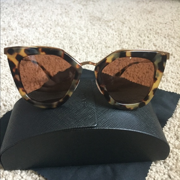 d1037dccc73b Prada medium Havana evolution cinema sunglasses. M_59cd0d5a981829e26f0249b5