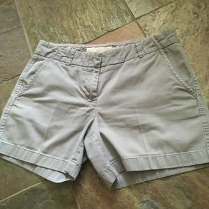 JCrew Chino broken in thicker shorts 5 inch long