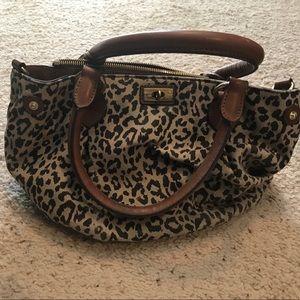 J. Crew leopard print purse