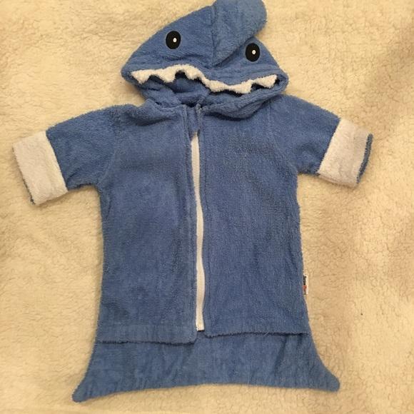 02e47f26df SwimZip Swim | Shark Hooded Towel Size 03 Months | Poshmark