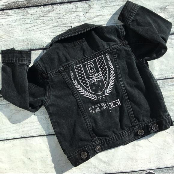 Coogi Jackets Coats Boys Black Denim Jacket Size 4t Poshmark