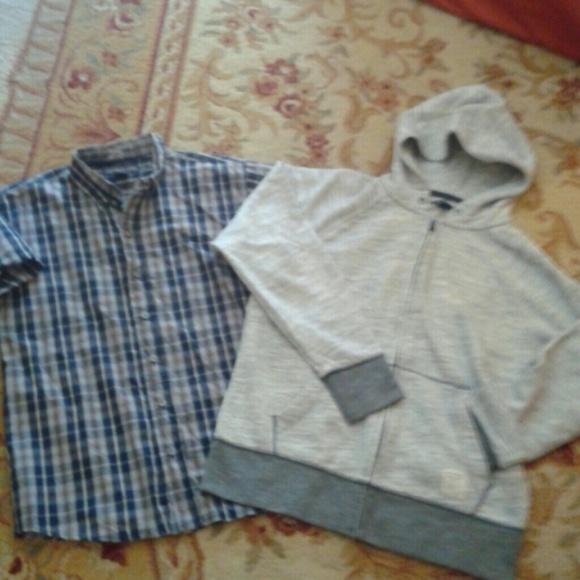 90% off Other - Boys Gap Zip up Jacket Hoodia US Polo Assn Shirt ...