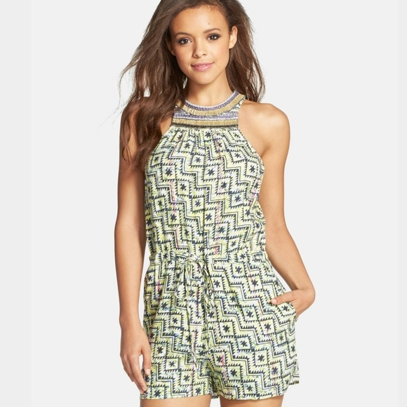 32633209099 Charlie Jade Dresses   Skirts - Charlie Jade Print Romper - M
