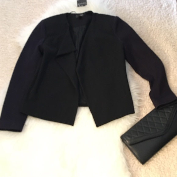 Topshop Jackets & Blazers - 🌷Topshop Blazer. Royal Purple sleeves. Size 6