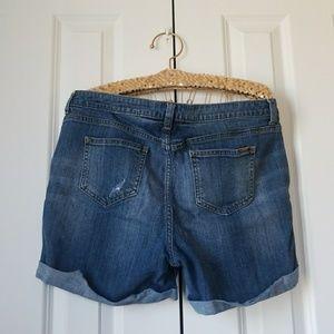 6b86953f79 Jennifer Lopez Shorts - Jennifer Lopez Rockin Cuffed Boyfriend Shorts