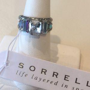 Stunning AB & Clear Sorrelli Ring, NWT