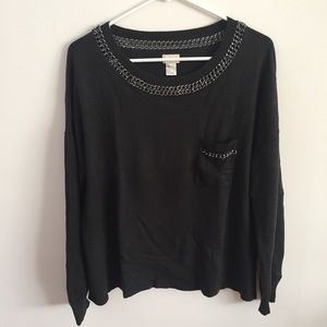 H&M Chain Link Cozy Sweater