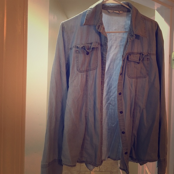 Riders by Lee Tops - Jean button up just in time for fall!