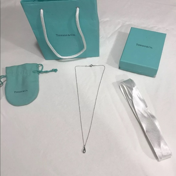 1fe85a973 Jewelry | Tiffany Co Elsa Peretti 22mm Teardrop Pendant | Poshmark