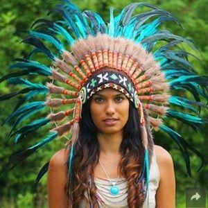Authentic Native American Headdress