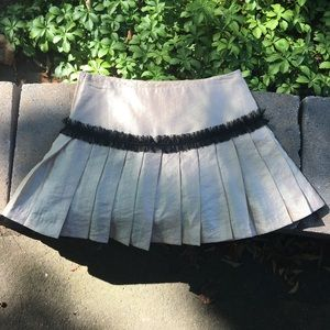 ⚡️ BETSEY JOHNSON iridescent pleated skirt ⚡️