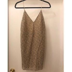 Zara V-cut Mini Dress/Tunic