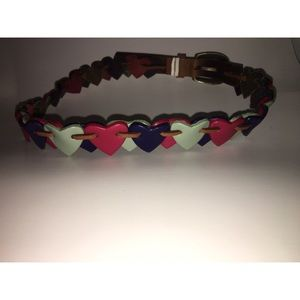 Girls Heart Belt
