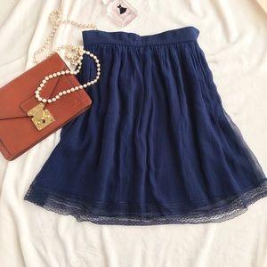 Christian Dior Silk/Lace skirt