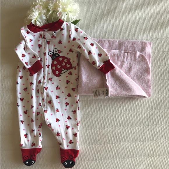 Koala Baby Pajamas | Lady Bug Onesie Cotton Swaddle | Poshmark