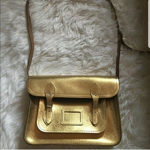 "Rare Gold 14"" The Cambridge Satchel Company"