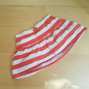 """CHILDREN'S PLACE"" striped skort"