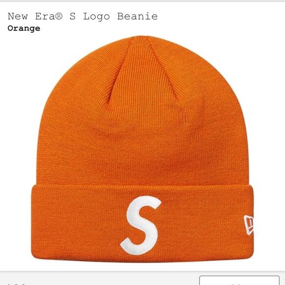 905ae3b21cb24 Supreme  New Era S Logo Beanie