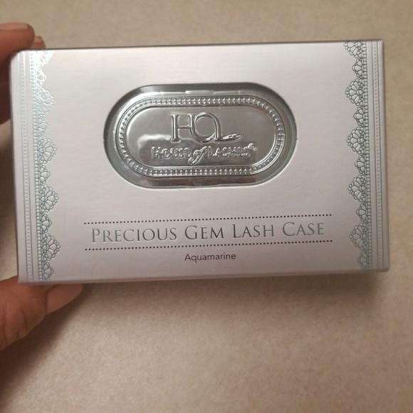 House of lashes precious gem lash case aquamarine NWT