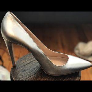 Club Monaco silver shoes