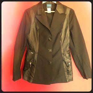 Kenzo Jeans jacket blazer black, size 42 eu /12 us