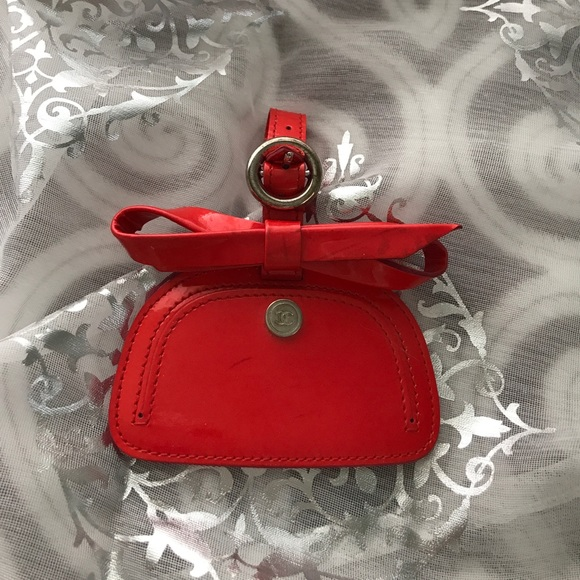 d9a28e8ded09 CHANEL Accessories | Authentic Luggage Tag | Poshmark