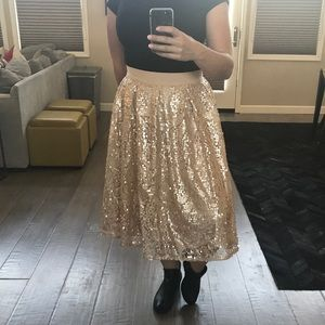 🎉HP🎉 Eloquii Studio size 18 sequin midi skirt
