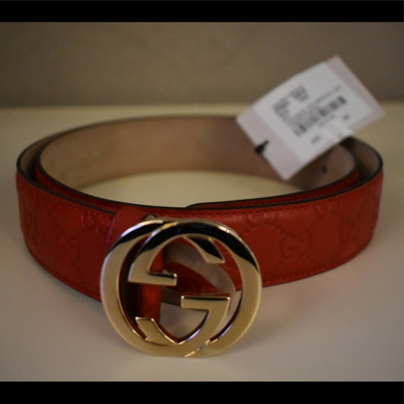 5830800e633 Authentic unisex Gucci belt with tags