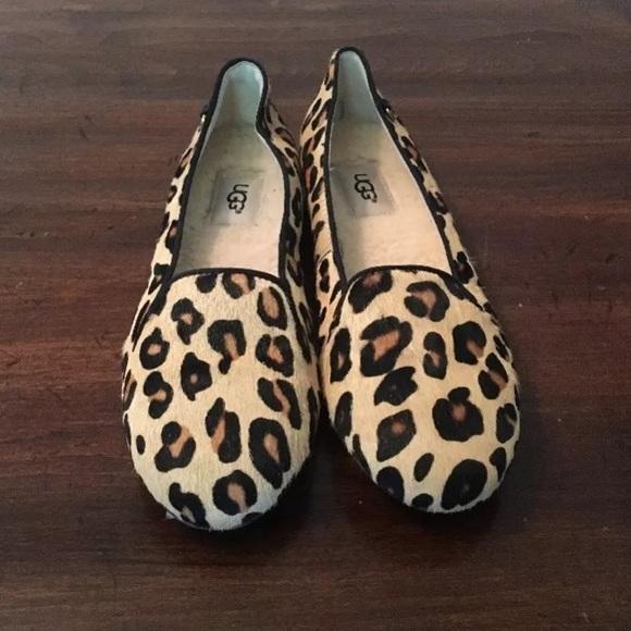 UGG Shoes | Ugg Blyss Leopard Haircalf