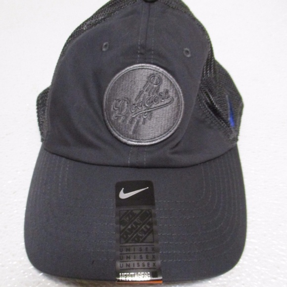 c3488b9fcd2 Los Angeles Dodgers Nike Gray Heritage 86 Cap New