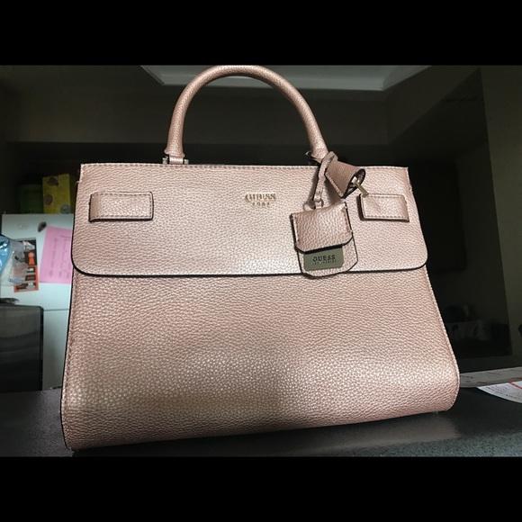 18e7a0a8d249 Guess Handbags - GUESS blush pink purse